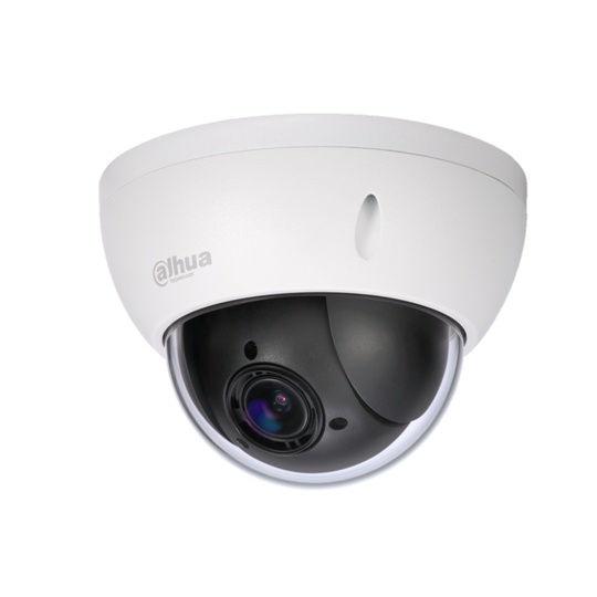Dahua SD22204IGC- CAMARA MINI PTZ DE 2MP HDCVI/ 4X ZOOM OPTICO/ WDR REAL 120DB/ INTERIOR/ EXTERIOR IP66
