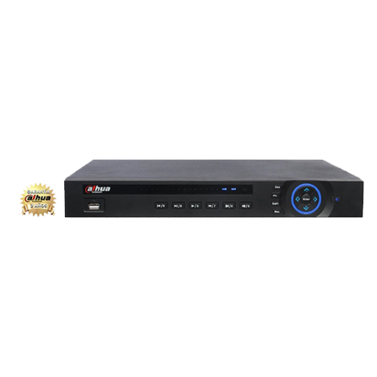 Dahua HCVR7208A- DVR 8 CANALES DE VIDEO HDCVI 1080P/ 4 AUDIO/ HDMI/ VGA/ P2P/ DAHUA DDNS/ 2 INTERFAZ SATA/ 2 USB/ PTZ