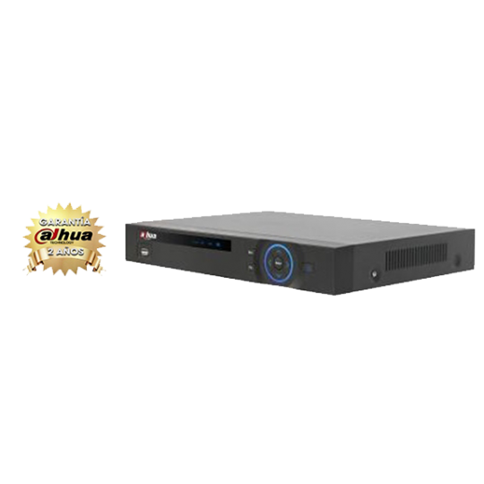 Dahua DVR5108HE- DVR 8 CANALES DE VIDEO FULL 960H/ 4 AUDIO RCA/ H264/ VGA/ HDMI/ 2 CANALES IP/ P2P NUBE/ CANAL 0/ DDNS