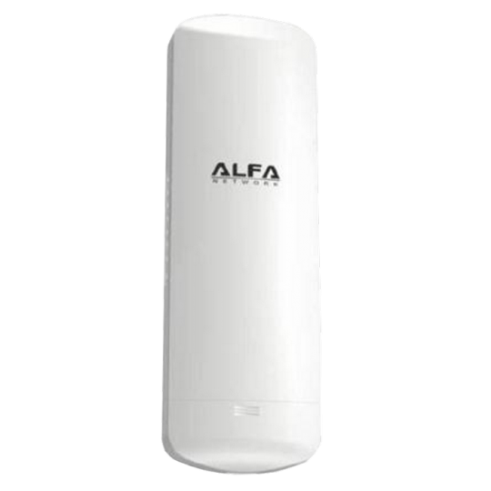 ALFA aN5- ACCESS POINT PARA EXTERIOR IP66 300MBPS/ FUNCION WDS/ 802.11AN/ ANTENA INTERNA DIRECCIONAL 14 DBI/ POE