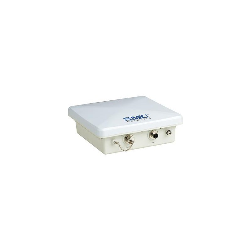 SMC SMC2891WAG- ACCESS POINT EXTERIOR DUAL BAND/ 2.4GHZ&5GHZ/ 802.11ABG/ANTENA INTEGRADA 5GHZ 17 DBI /108MBPS TURBO/ POE