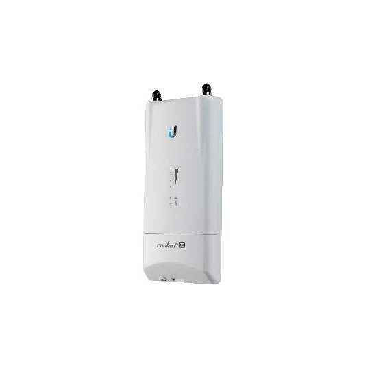 Ubiquiti R5ACLITE- ROCKET ACCESS POINT AIRMAX AC 5GHZ/ EXTERIOR/ MIMO/ 2 CONECTORES RP-SMA/ 27DBM/ RENDIMIENTO HASTA 500MBPS
