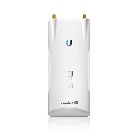 Ubiquiti R5ACPTP- ROCKET ACCESS POINT PARA PUNTO A PUNTO AIRMAX AC 5GHZ/ EXTERIOR/ MIMO/ 27DBM/ RENDIMIENTO HASTA 500MBPS