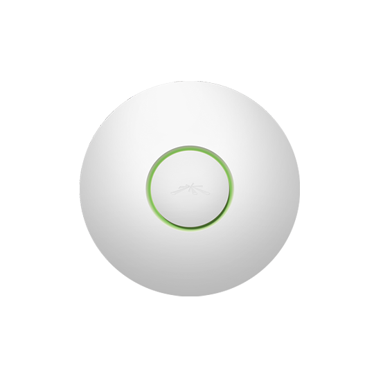 Ubiquiti UAP- ACCESS POINT INALAMBRICO UNIFI 2.4GHZ/ INTERIOR/ MIMO/ ANTENA OMNI 3 DBI/ 20 DBM/ HASTA 300MBPS