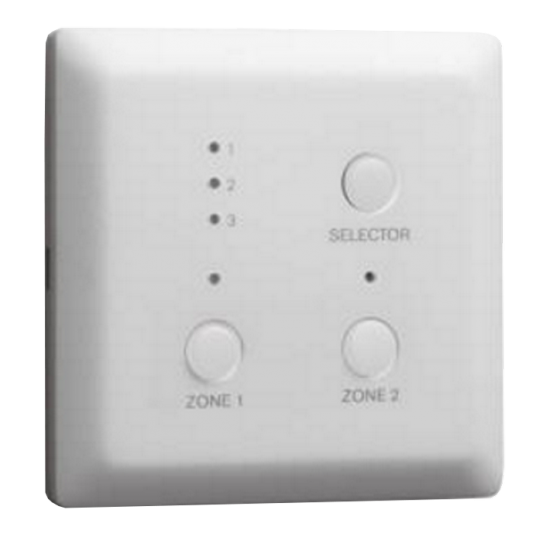 Bosch M_PLEWP3S2ZUS- PANEL DE PARED SELECCION DE ZONAS REMOTA /REGULAR EL VOLUMEN