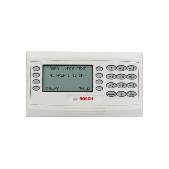 Bosch I_D1260W TECLADO LCD SERIES D1260 COLOR BLANCO