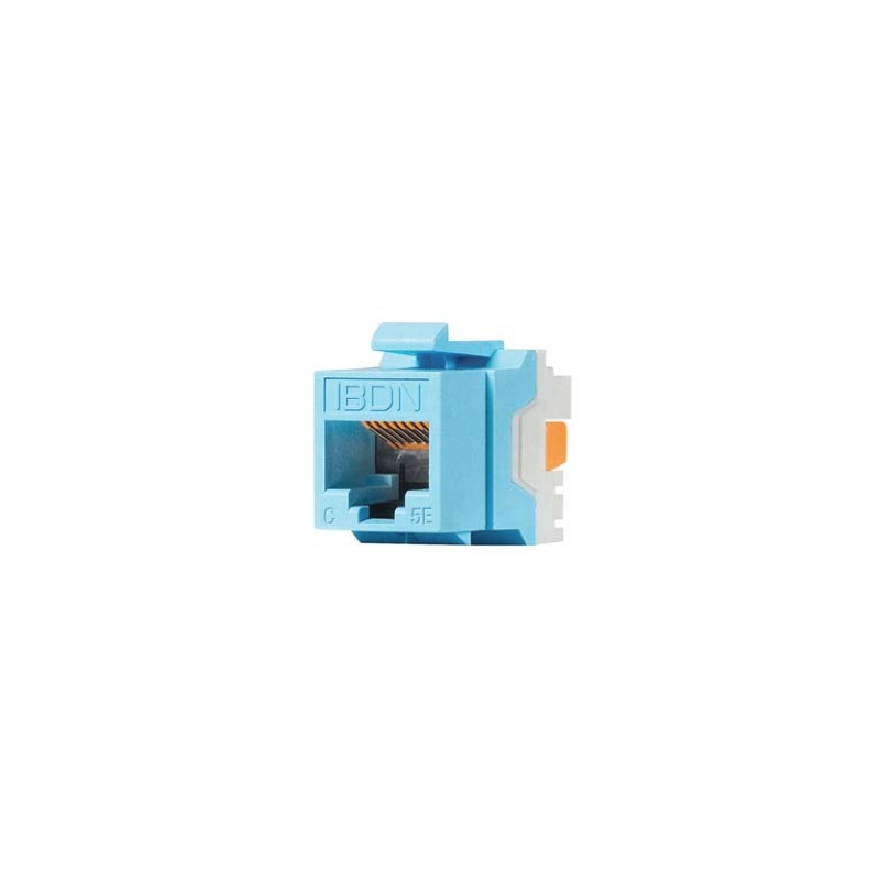 Belden AX101315- JACK MODULAR/ UTP/ CAT5E/ COLOR AZUL