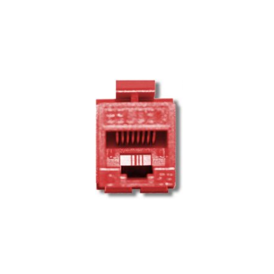 Belden AX104183- JACK MODULAR/ UTP/ CAT 5E/ COLOR ROJO
