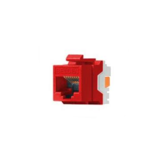 Belden AX104190- JACK MODULAR/ UTP/ CAT6 / COLOR ROJO
