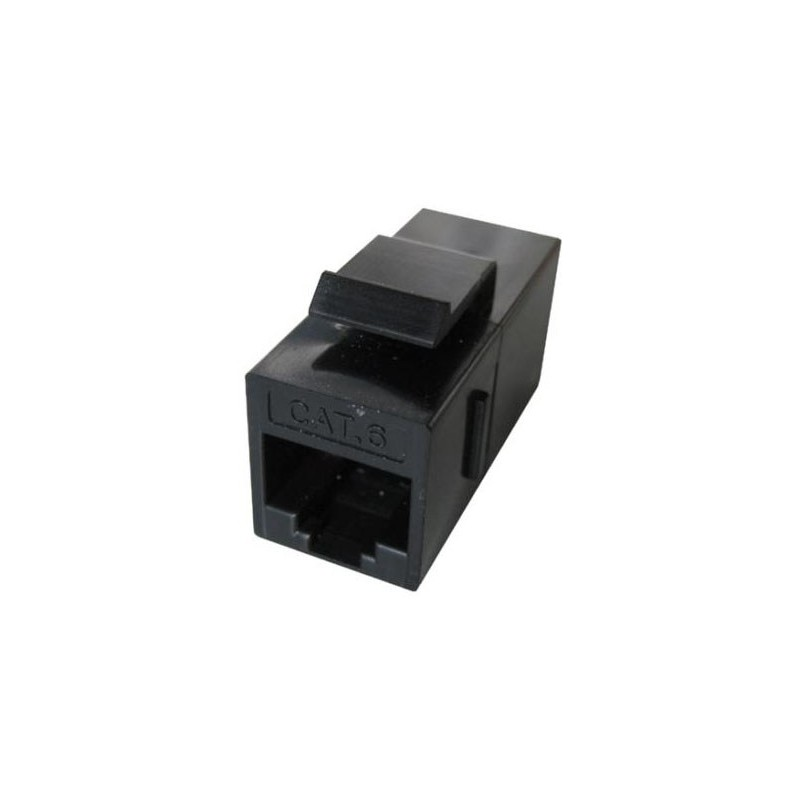 TVC aC5U6RJ45BKS- COPLE UTP/CAT 5E / PARA CABLE UTP / COLOR NEGRO
