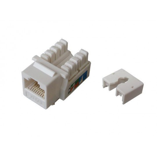 TVC aC5U7KB9DNWH- JACK MODULAR UTP/CAT 5E/COLOR BLANCO