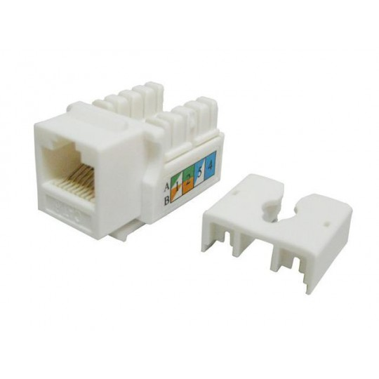 TVC aC6U7KB9DNWH- JACK MODULAR UTP/CAT 6/COLOR BLANCO
