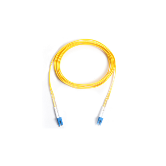 Saxxon J4P4P2291MP - FIBRA OPTICA PATCH CORD/ LC-LC DUPLEX/ 1.0 METRO/ COLOR AMARILLO