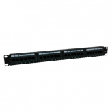 TVC aC5U8BBH24- PATCH PANEL/CAT 5E/24 PTOS/19 PULGADAS/MONTAJE EN RACK
