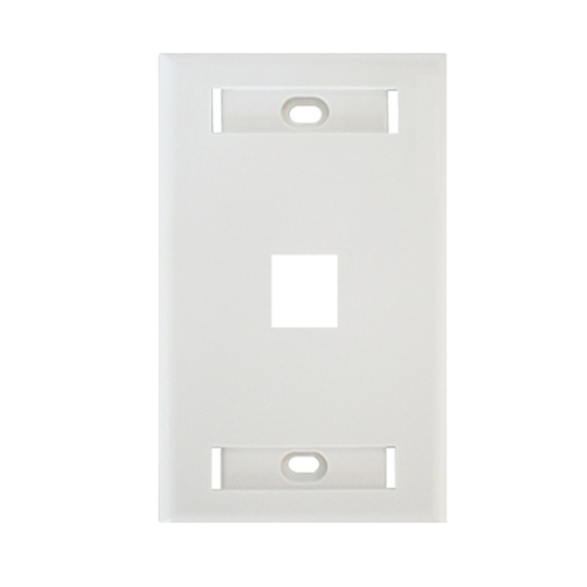 Belden AX102660- PLACA FRONTAL/ 1 VENTANA/ COLOR BLANCO