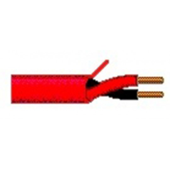 Belden 5120UL0021000 - BOBINA DE CABLE / 2 CONDUCTORES / COLOR ROJO/ CALIBRE 14 AWG