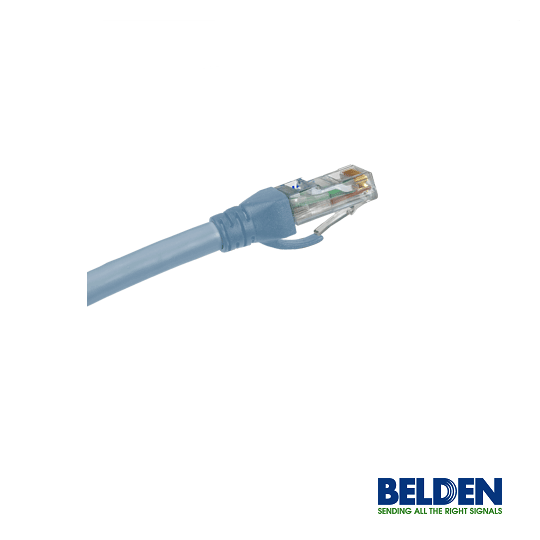 Belden C601116007- PATCH CORD/ CAT6/ AZUL CLARO/ 7 FT