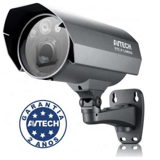 Avtech AVP561- CAMARA BULLET IP/ 2MP/ SOLID LIGHT/ POC / 10X ZOOM OPTICO /ETS / WDR / ONVIF/IP67/VISION NO
