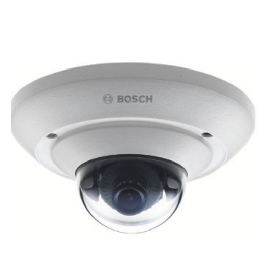 Bosch V_NUC21012F2- FLEXIDOME IP MICRO 2000/ INTERIOR/ RESOLUCION 720P/ MICROFONO/ LENTE 2.5 MM