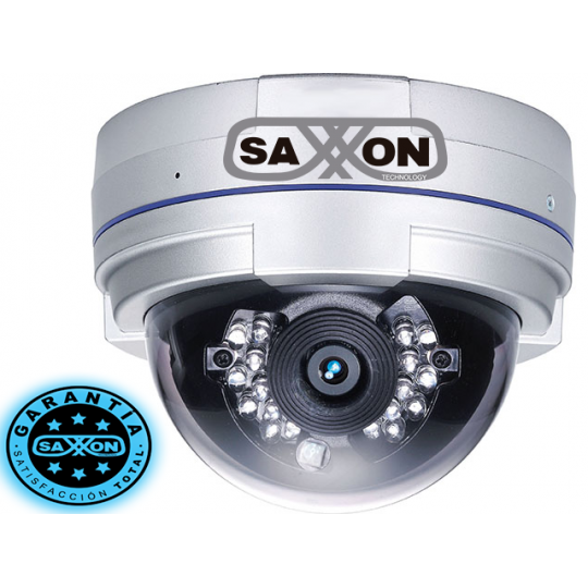 Surveon IDFX102 - CAMARA IP DOMO FULL HD / FIJO 4 MM / IR 10 MTS / DIA Y NOCHE / TRIPLE CODEC