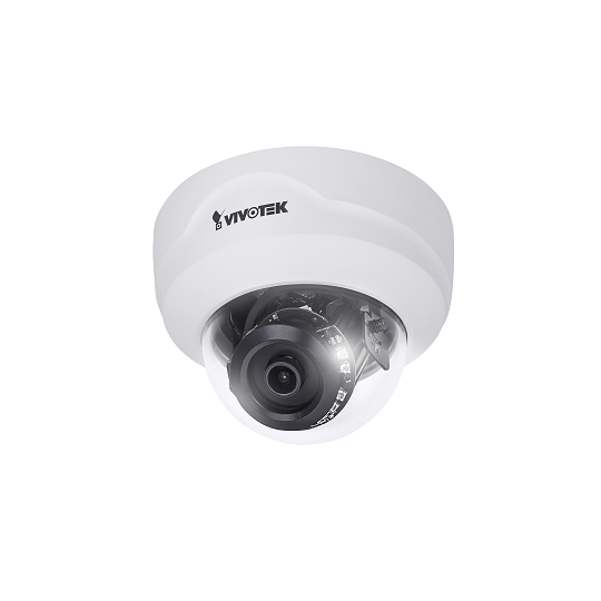 Vivotek FD8169A - CAMARA IP DOMO INTERIOR 2MP FULL HD/ LENTE 2.8 MM/ SMART IR 20M/ SNV/ 3DNR/SMART STREAM/POE