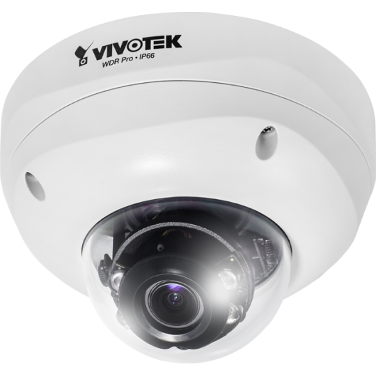 Vivotek FD8355EHV- CAMARA DOMO IP EXTERIOR/ANTIVANDALICA /1.3 MP/HD/ ENFOQUE REMOTO/WDR PRO II/SMART IR 30MTS/IP66