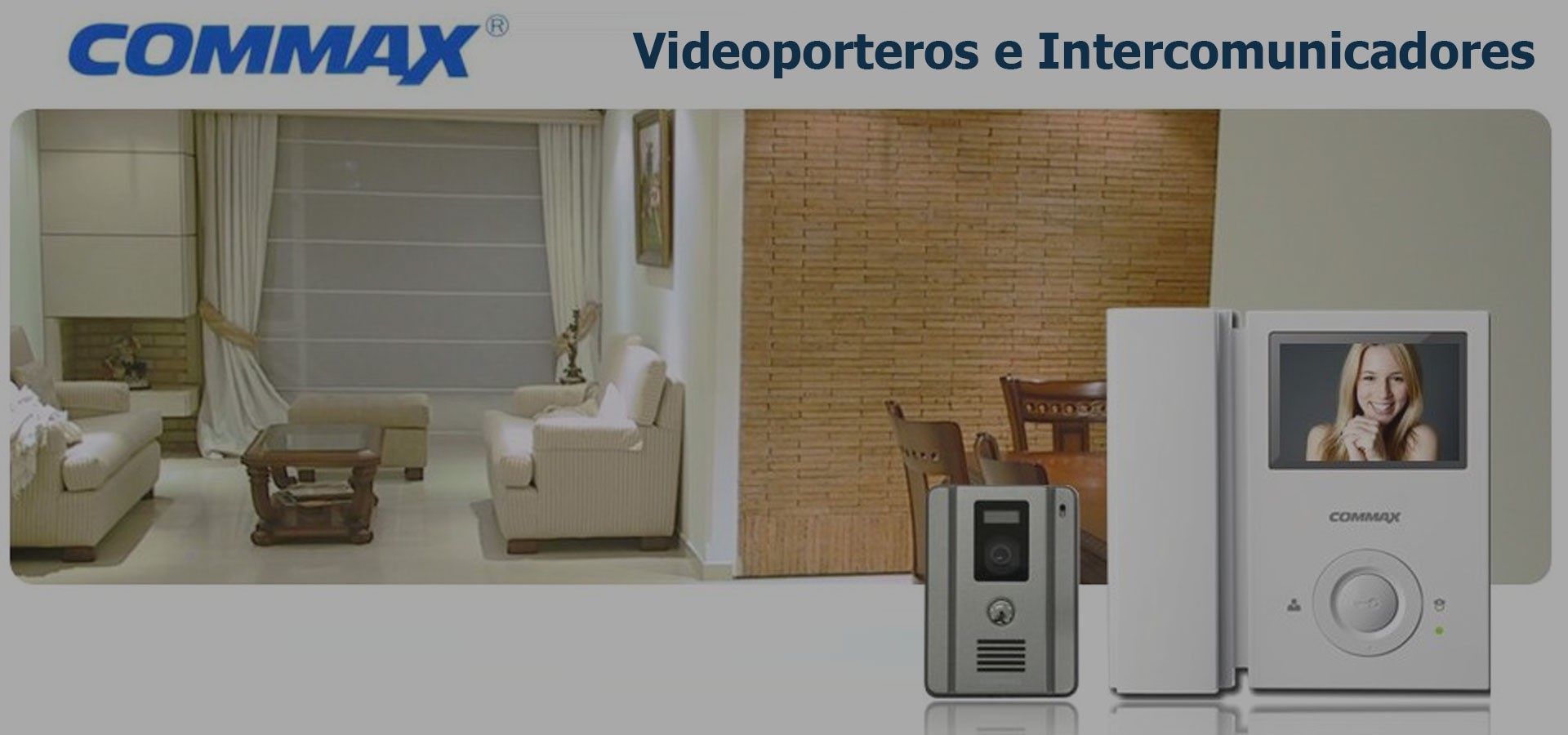 Videoporteros e Intercomunicadores COMMAX
